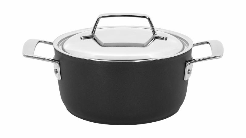Alu Pro, casserole avec couvercle