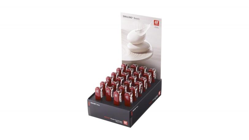 Display 24x Multi-Tool, roestvrij, rood