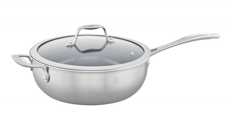 4.6-qt Ceramic Nonstick Perfect Pan