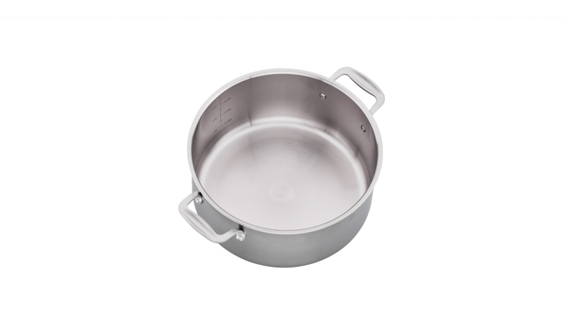 8-qt Stainless Steel Dutch Oven