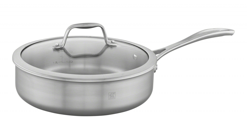 3-qt Stainless Steel Saute Pan