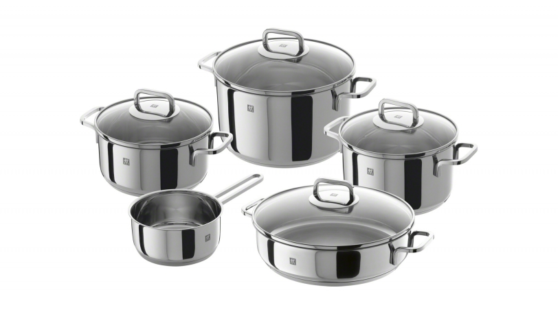 Zwilling bater a de cocina 5 piezas zwilling quadro 5 pz for Marcas de menaje de cocina