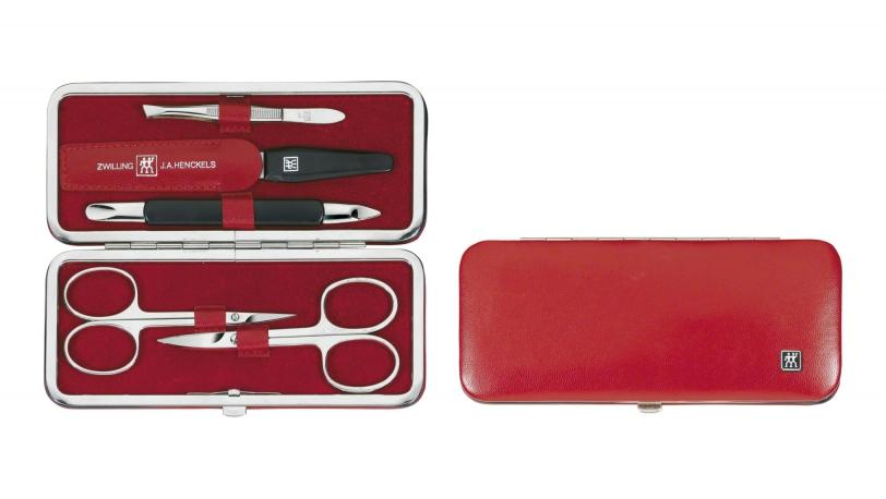 Manicuresæt 5 dele, rød   ZWILLING® CLASSIC manicure sæt   ZWILLING 0