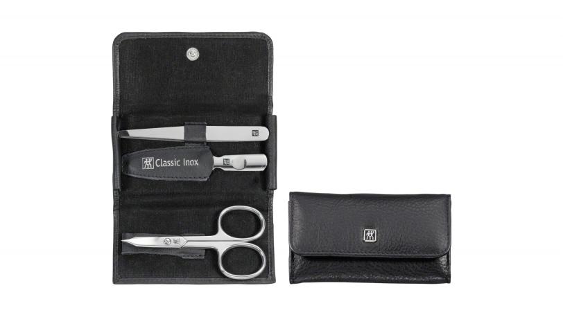 Estuche de bolsillo de piel, 3 piezas | Estuches de manicura ZWILLING® Classic Inox | ZWILLING 0