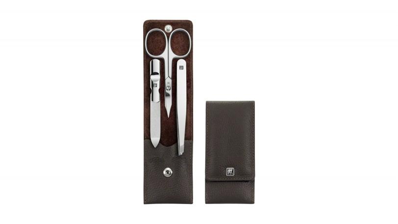 Estuche de manicura marrón 3 piezas | Estuches de manicura ZWILLING® Classic Inox | ZWILLING 0