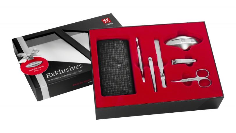 Estuche de manicura, 5 piezas, con jabón de acero de regalo | Estuches de manicura ZWILLING® Classic Inox | ZWILLING 0