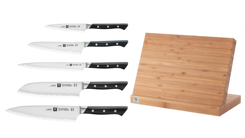 Magnetic Knife Block With 5 ZWILLING Diplome Knives   ZWILLING® Diplôme   ZWILLING 0