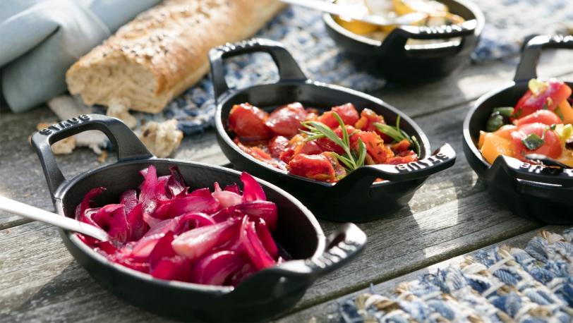 Mini Oval Gratin Baking Dish