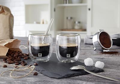 Te-, espresso- og latteskeer