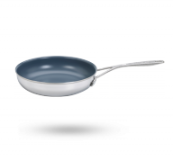 "9.5"" Stainless Steel Ceramic Nonstick Fry Pan"