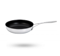 "9.5"" Stainless Steel Traditional Nonstick Fry Pan"
