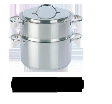 Set de cocción al vapor 2 piezas