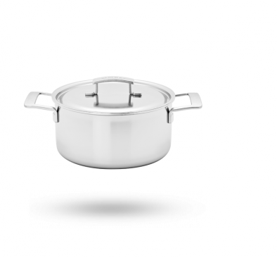 5.5-qt Stainless Steel Dutch Oven