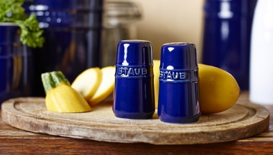 Salt and Pepper Shaker, Dark Blue